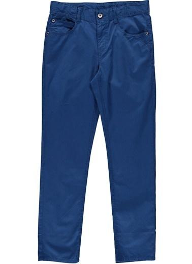 012 Benetton Pantolon Mavi